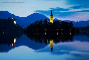 Lake Bled, Church of Mary Magdalena, Slovenia
